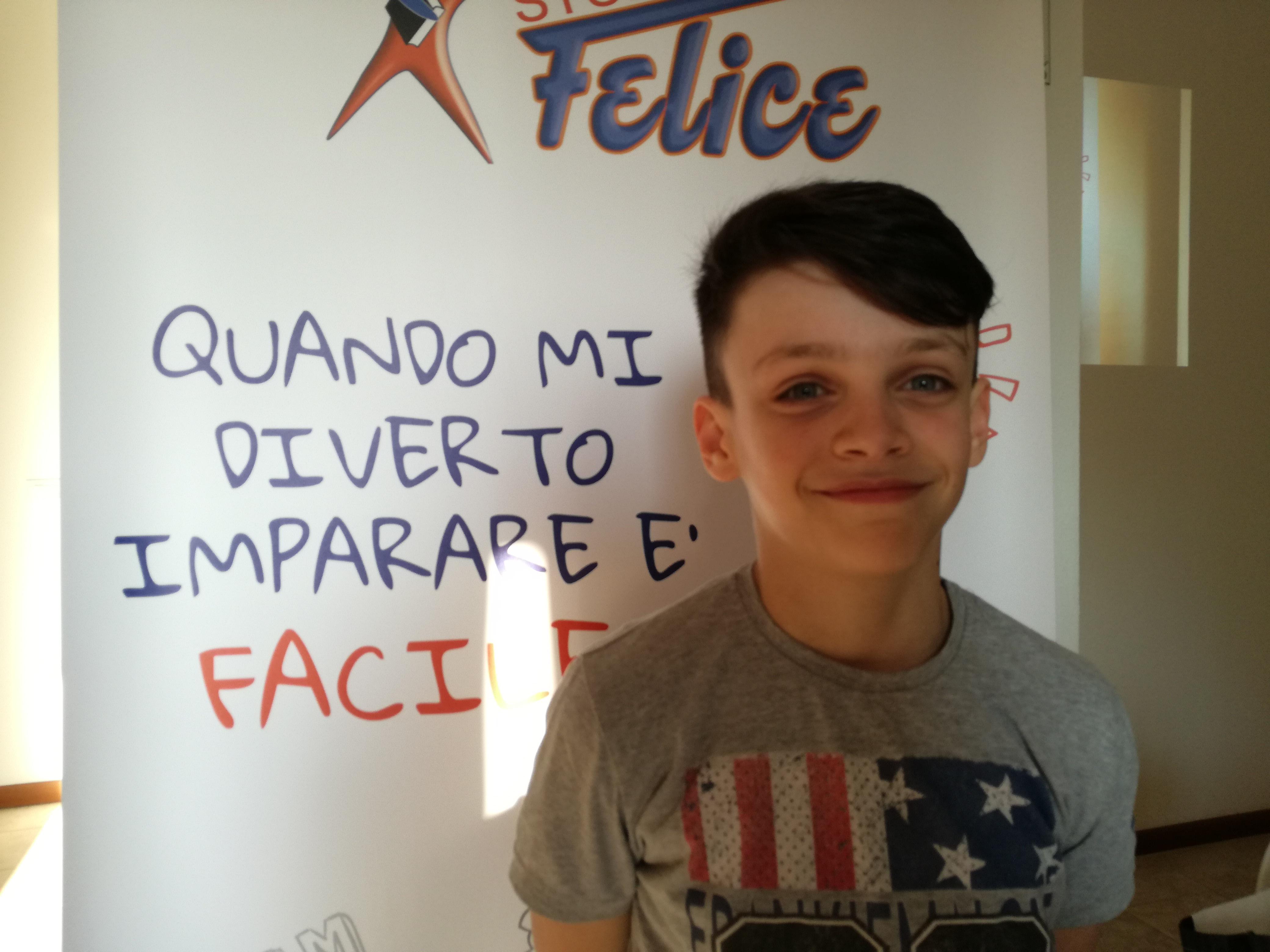 Alessandra mamma di Mattia, 11 anni